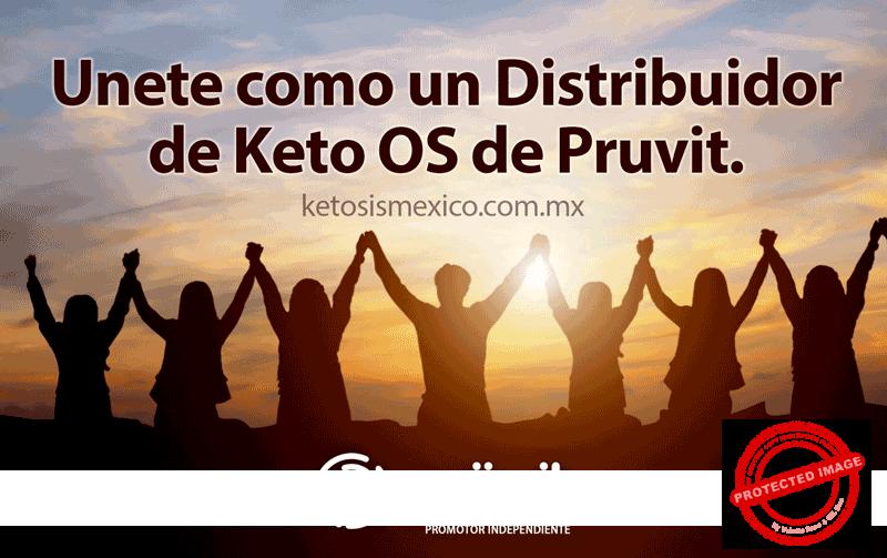Unete como un Distribuidor de Keto OS de Pruvit.