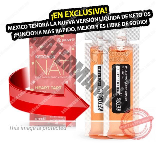 Pruvit Mexico keto os nat Pera dulce cetonas ketones